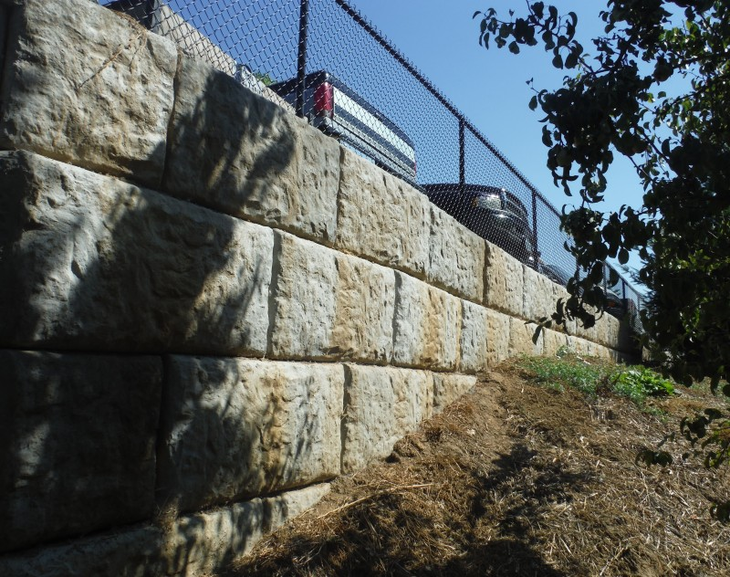 Muslim Educational Trust Retaining Wall Specialty